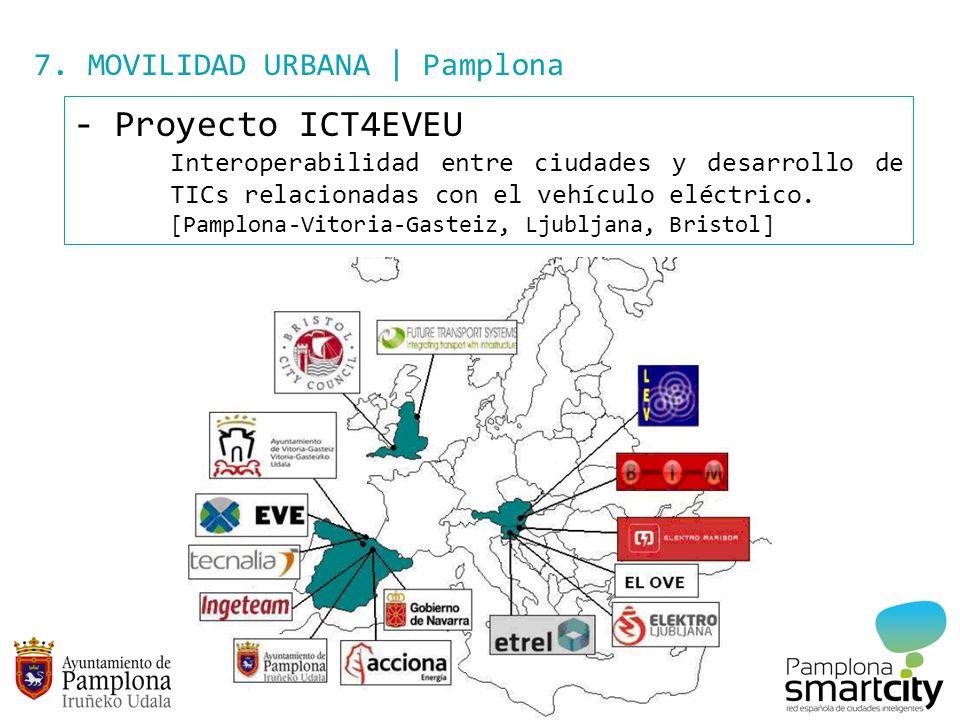 Proyecto ICT4EVEU 7. MOVILIDAD URBANA | Pamplona
