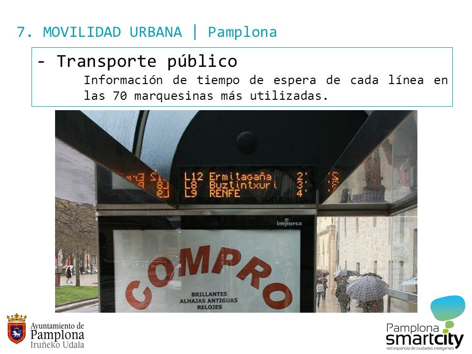 Transporte público 7. MOVILIDAD URBANA | Pamplona