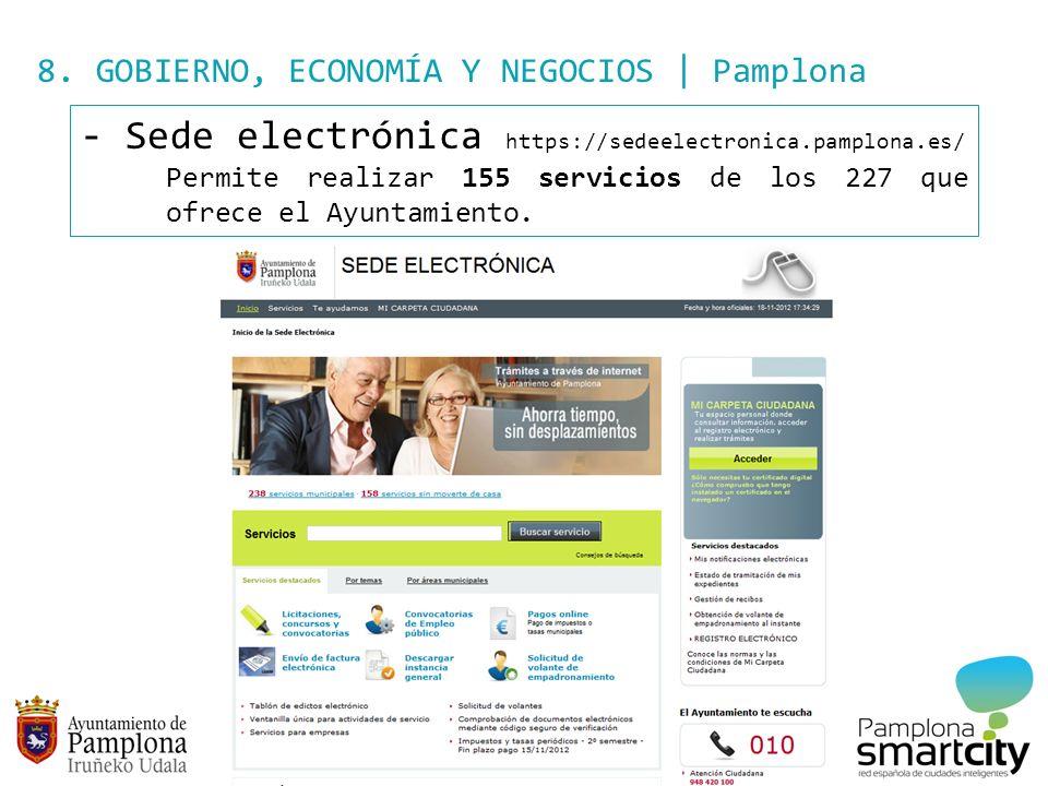 Sede electrónica https://sedeelectronica.pamplona.es/