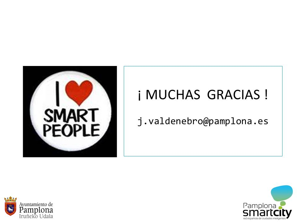 ¡ MUCHAS GRACIAS ! j.valdenebro@pamplona.es