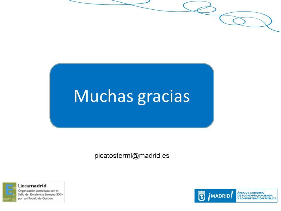Muchas gracias picatosterml@madrid.es