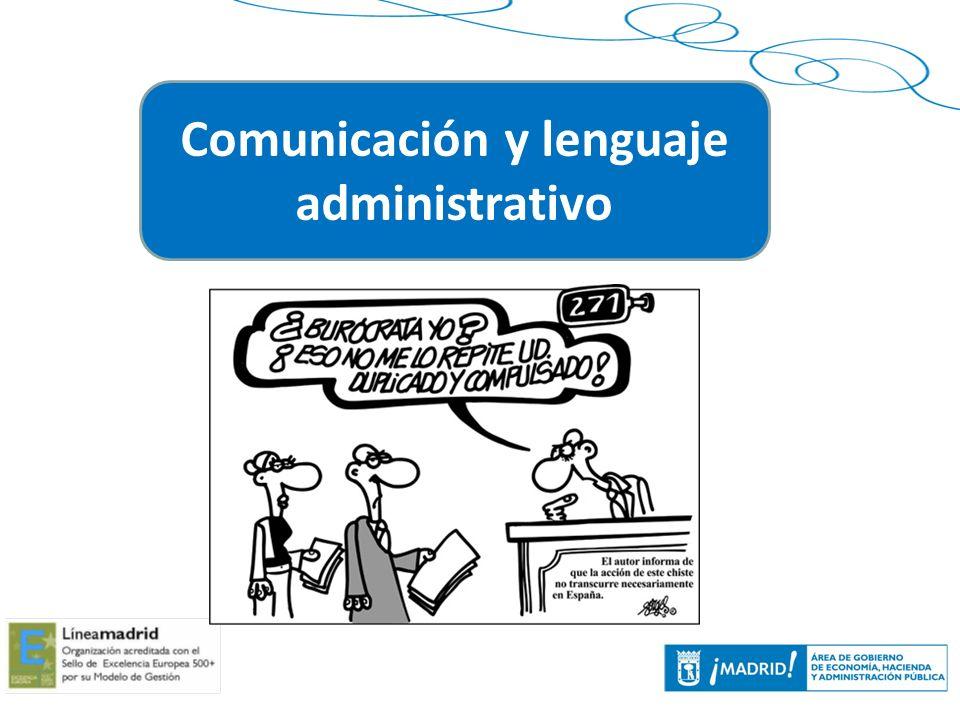 Comunicación y lenguaje administrativo
