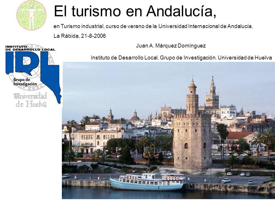 El turismo en Andalucía,
