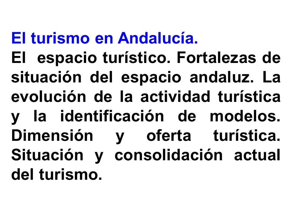 El turismo en Andalucía.