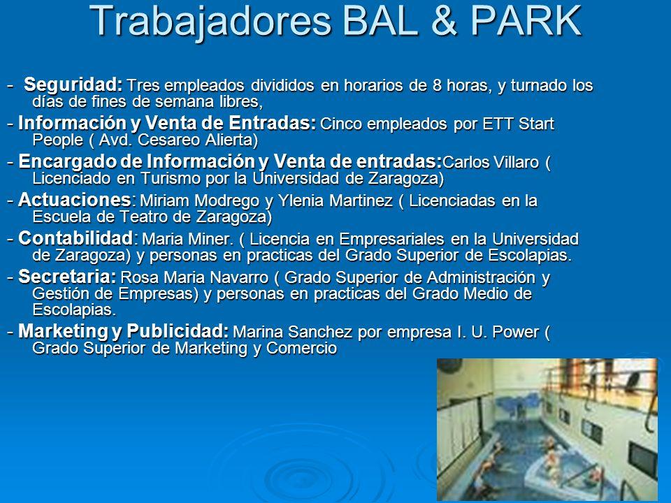 Trabajadores BAL & PARK
