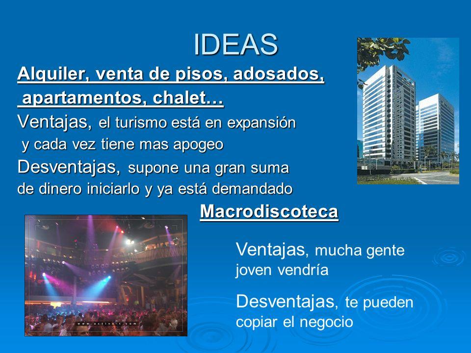 IDEAS Alquiler, venta de pisos, adosados, apartamentos, chalet…