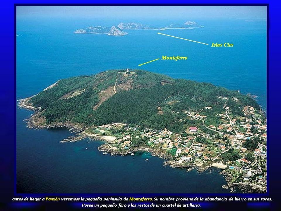Islas Cíes Monteferro.