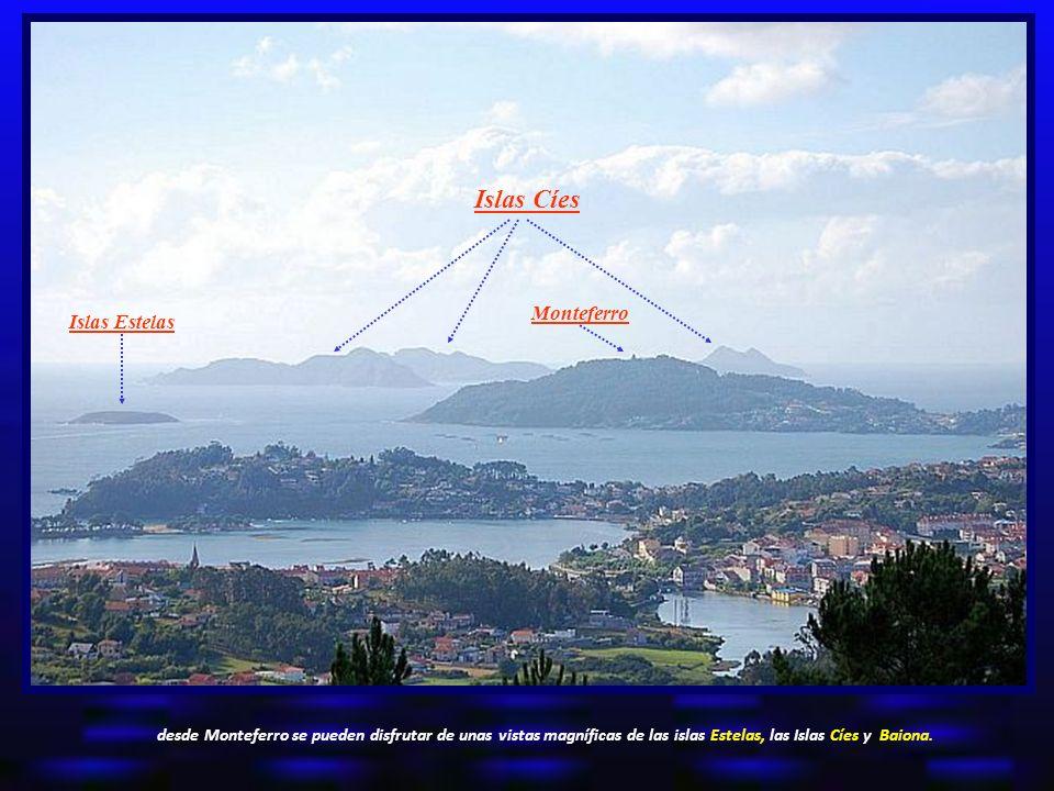 Islas Cíes Monteferro Islas Estelas