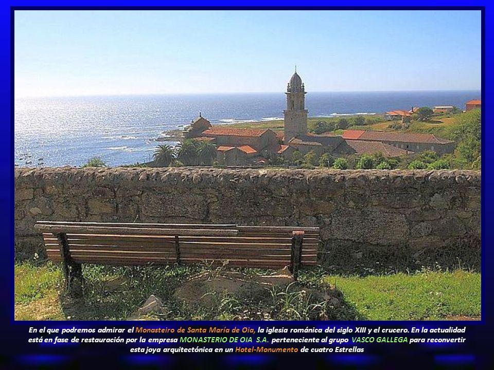 En el que podremos admirar el Monasteiro de Santa María de Oia, la iglesia románica del siglo XIII y el crucero.