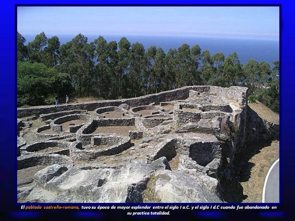 El poblado castreño-romano, tuvo su época de mayor esplendor entre el siglo I a.C.