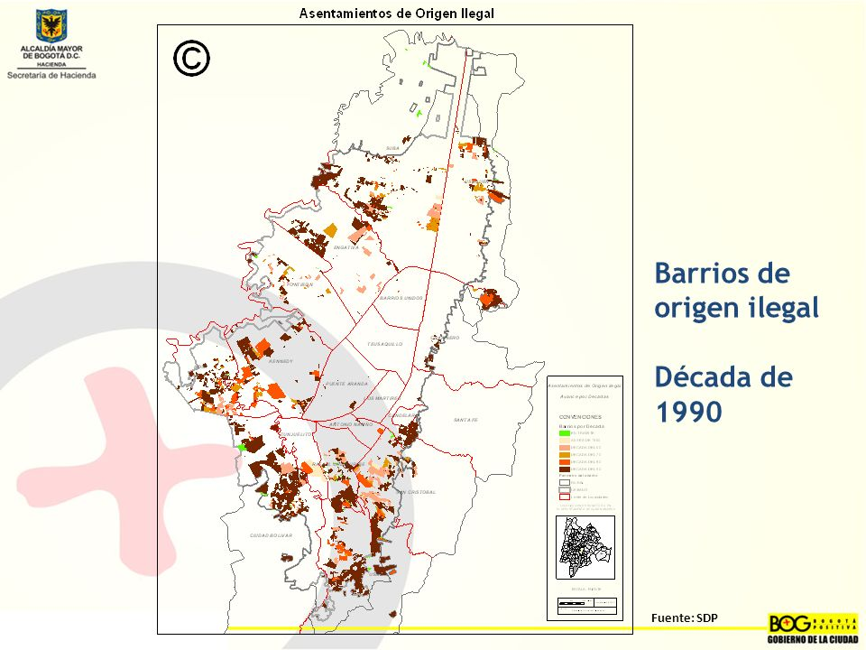 Barrios de origen ilegal