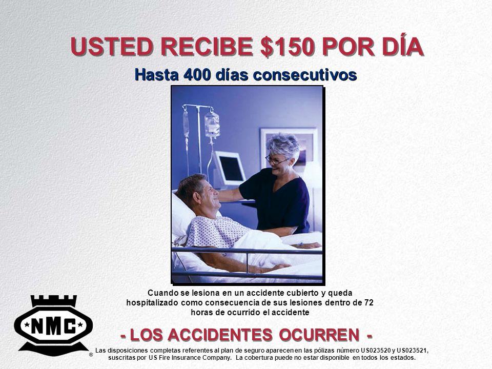 Hasta 400 días consecutivos - LOS ACCIDENTES OCURREN -
