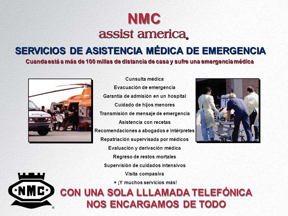 NMC SERVICIOS DE ASISTENCIA MÉDICA DE EMERGENCIA