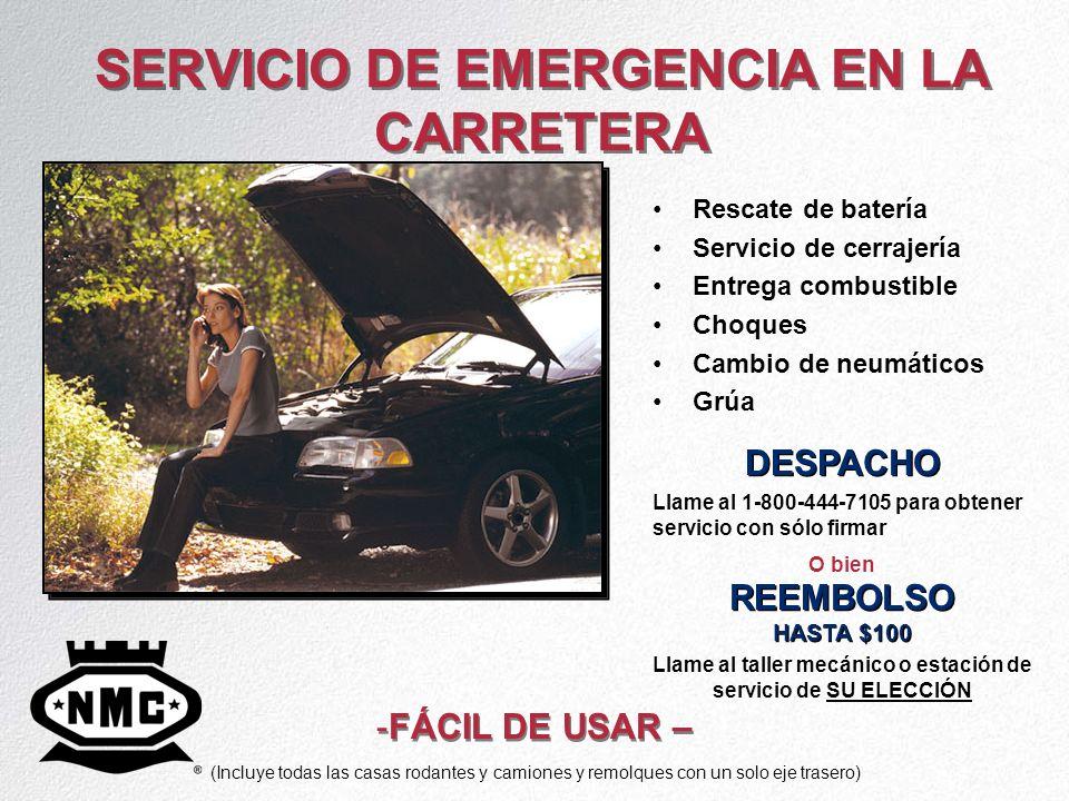 SERVICIO DE EMERGENCIA EN LA CARRETERA