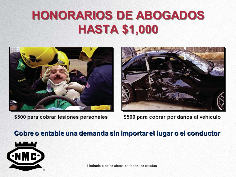 HONORARIOS DE ABOGADOS HASTA $1,000