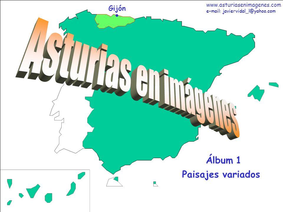 Asturias en imágenes Álbum 1 Paisajes variados Gijón