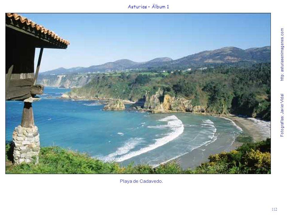 Asturias - Älbum 1 Playa de Cadavedo.