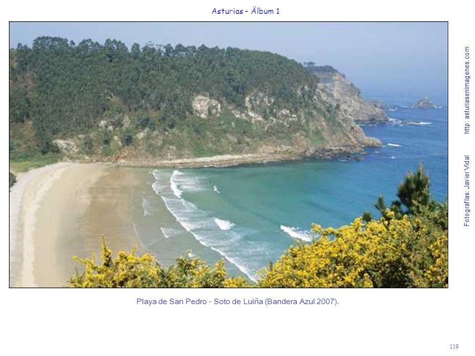 Playa de San Pedro - Soto de Luiña (Bandera Azul 2007).