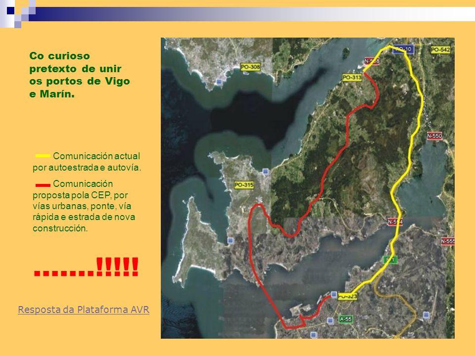 .......!!!!! Co curioso pretexto de unir os portos de Vigo e Marín.