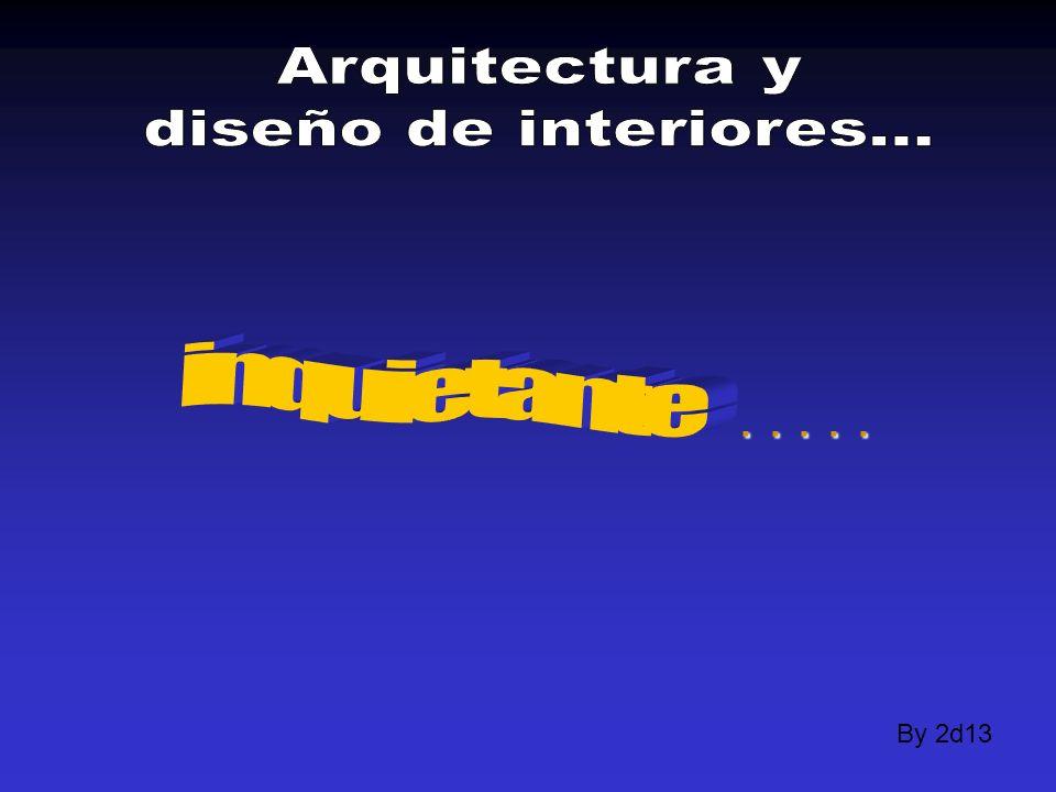 Arquitectura y diseño de interiores... inquietante . . . . . By 2d13