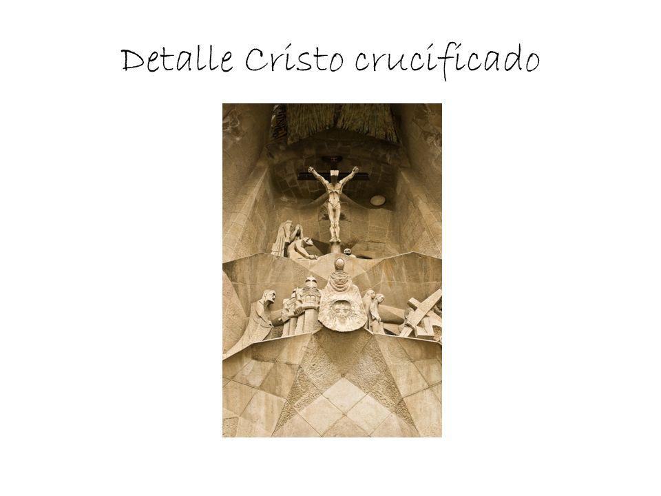 Detalle Cristo crucificado