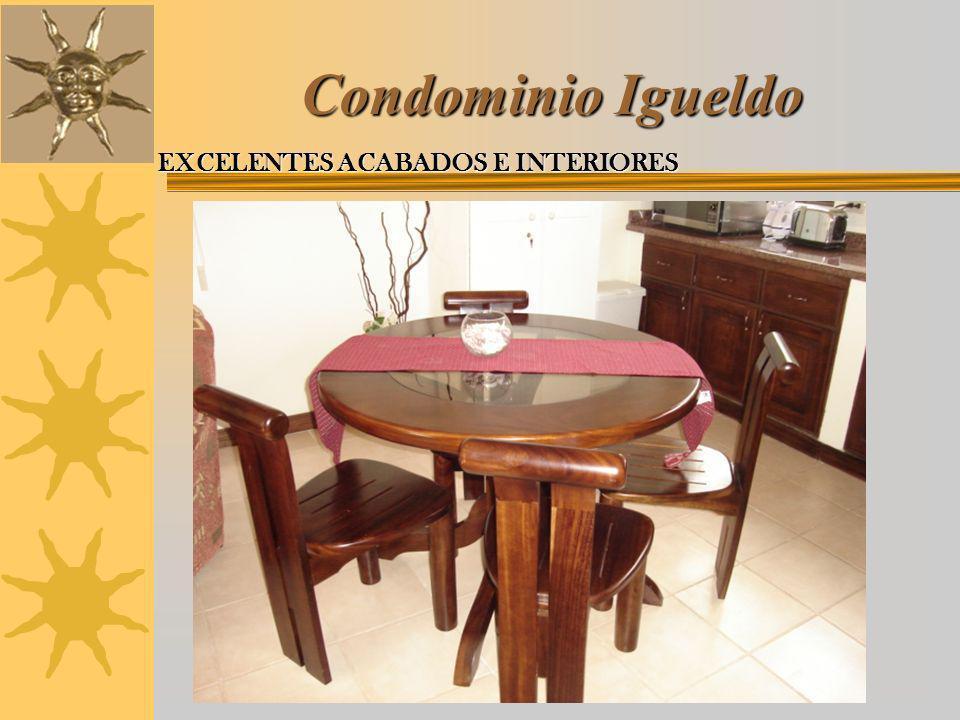 Condominio Igueldo EXCELENTES ACABADOS E INTERIORES