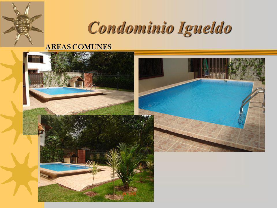 Condominio Igueldo AREAS COMUNES