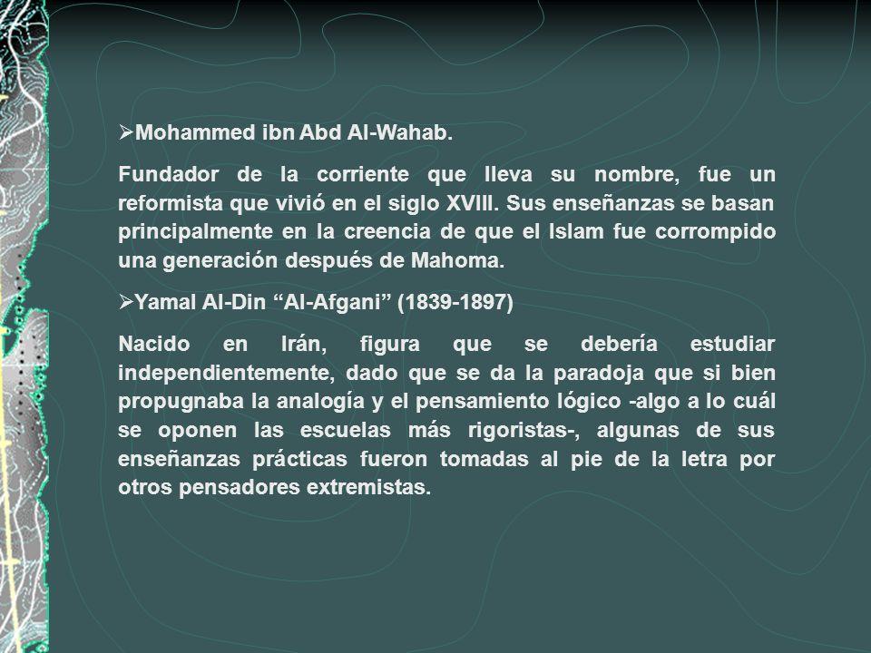 Mohammed ibn Abd Al-Wahab.