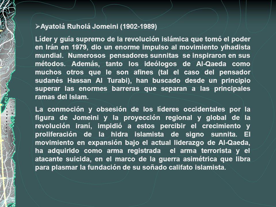 Ayatolá Ruholá Jomeini (1902-1989)