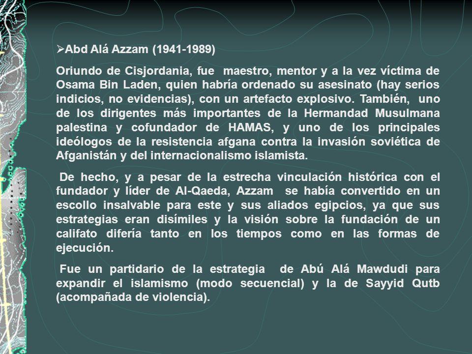 Abd Alá Azzam (1941-1989)