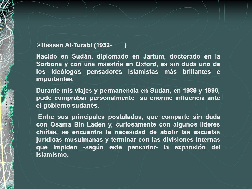 Hassan Al-Turabi (1932- )