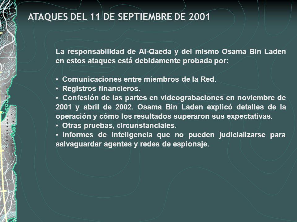 ATAQUES DEL 11 DE SEPTIEMBRE DE 2001