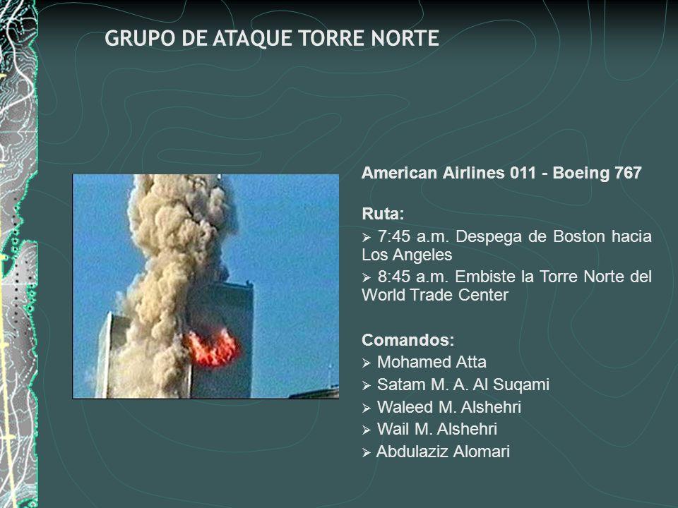 GRUPO DE ATAQUE TORRE NORTE