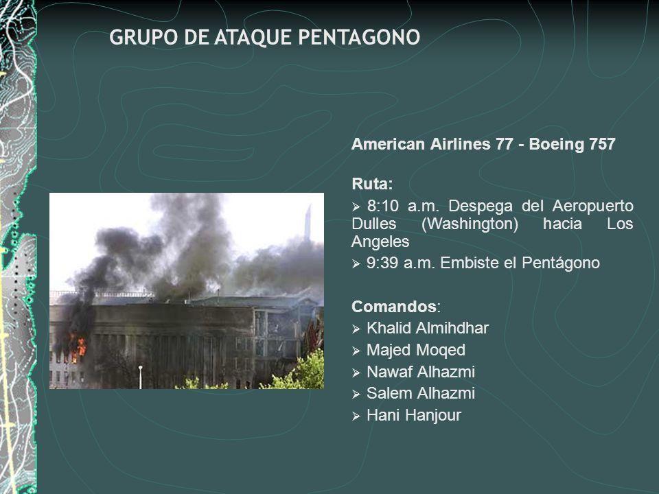 GRUPO DE ATAQUE PENTAGONO