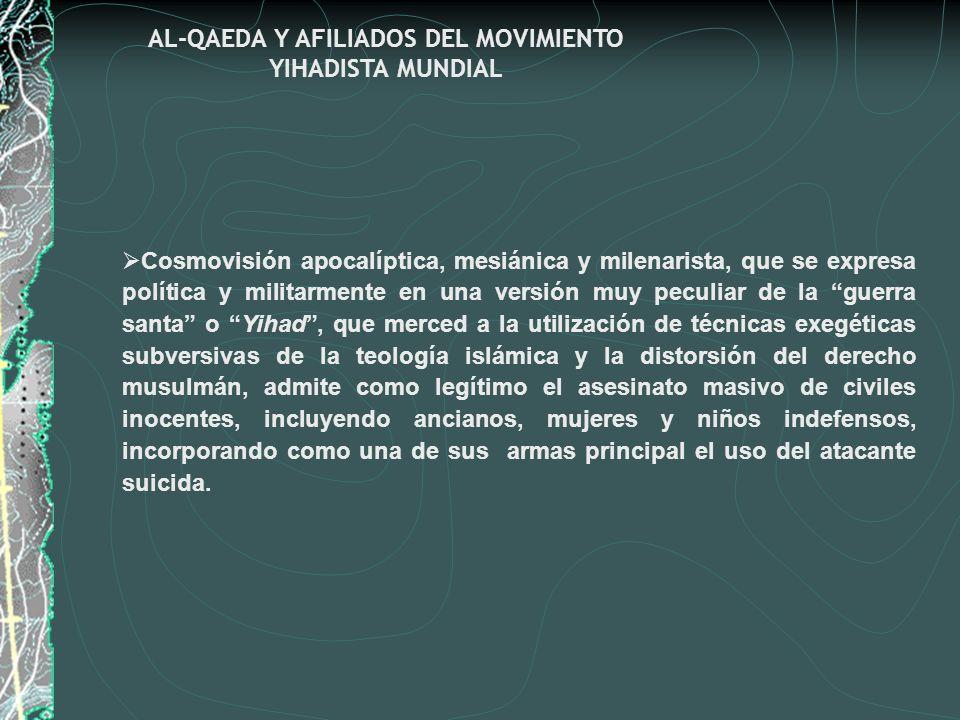 AL-QAEDA Y AFILIADOS DEL MOVIMIENTO YIHADISTA MUNDIAL