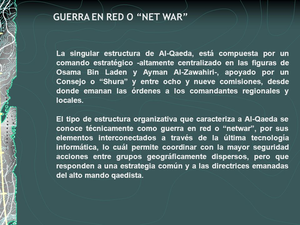GUERRA EN RED O NET WAR