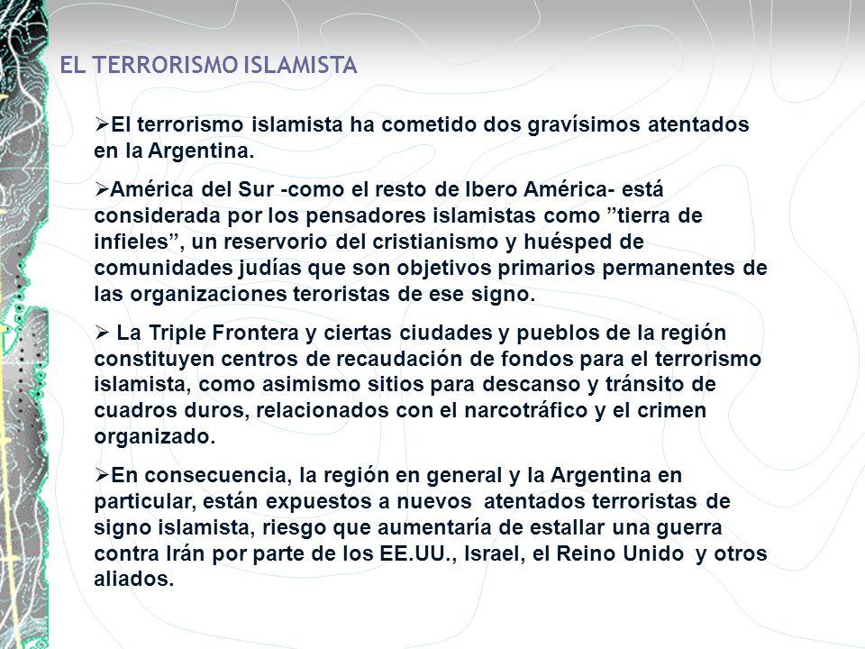 EL TERRORISMO ISLAMISTA