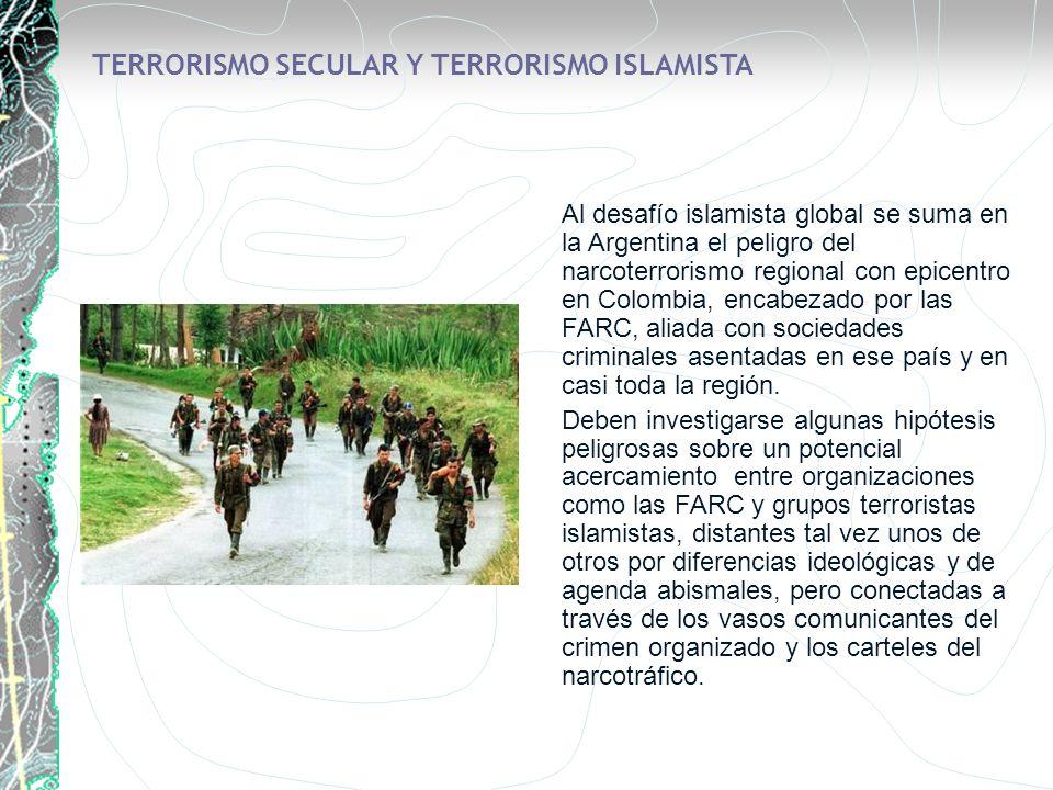 TERRORISMO SECULAR Y TERRORISMO ISLAMISTA