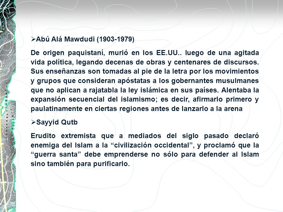 Abú Alá Mawdudi (1903-1979)