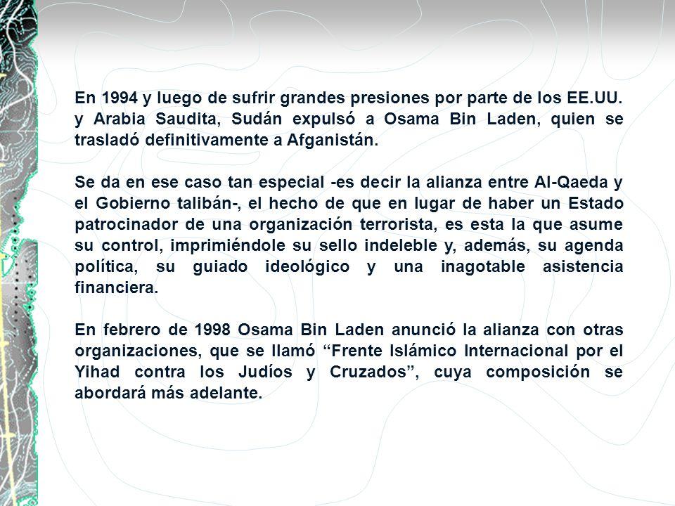 En 1994 y luego de sufrir grandes presiones por parte de los EE. UU