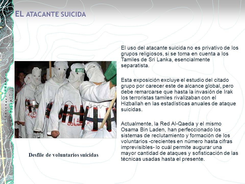 EL ATACANTE SUICIDA