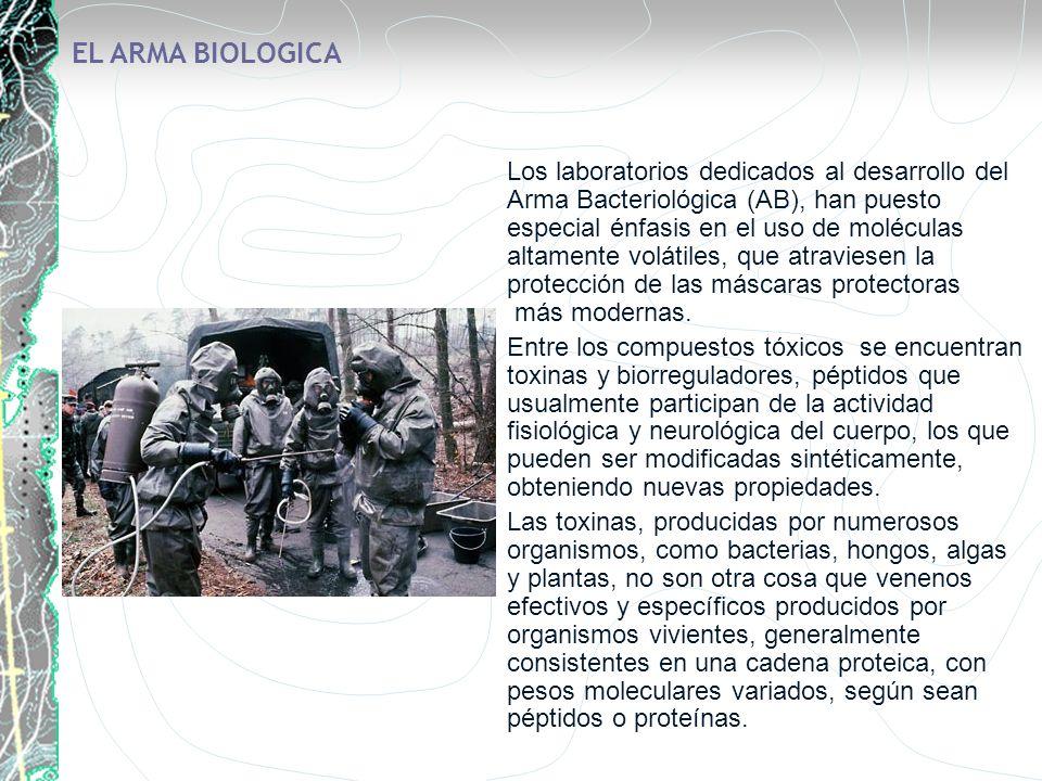 EL ARMA BIOLOGICA