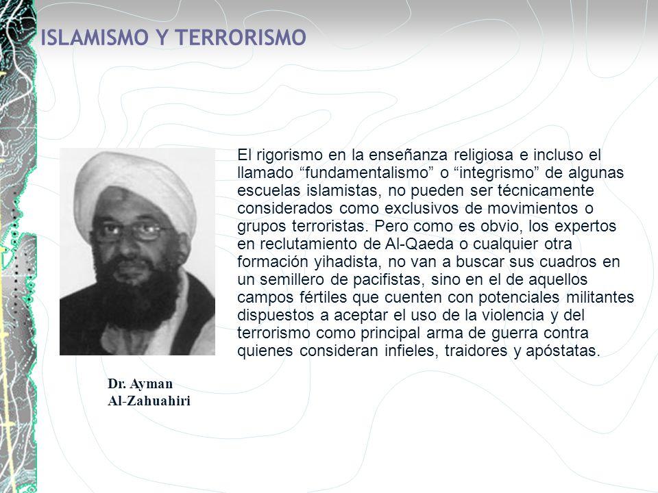 ISLAMISMO Y TERRORISMO