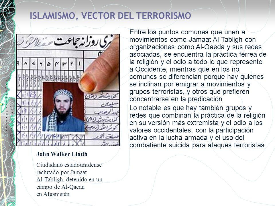 ISLAMISMO, VECTOR DEL TERRORISMO