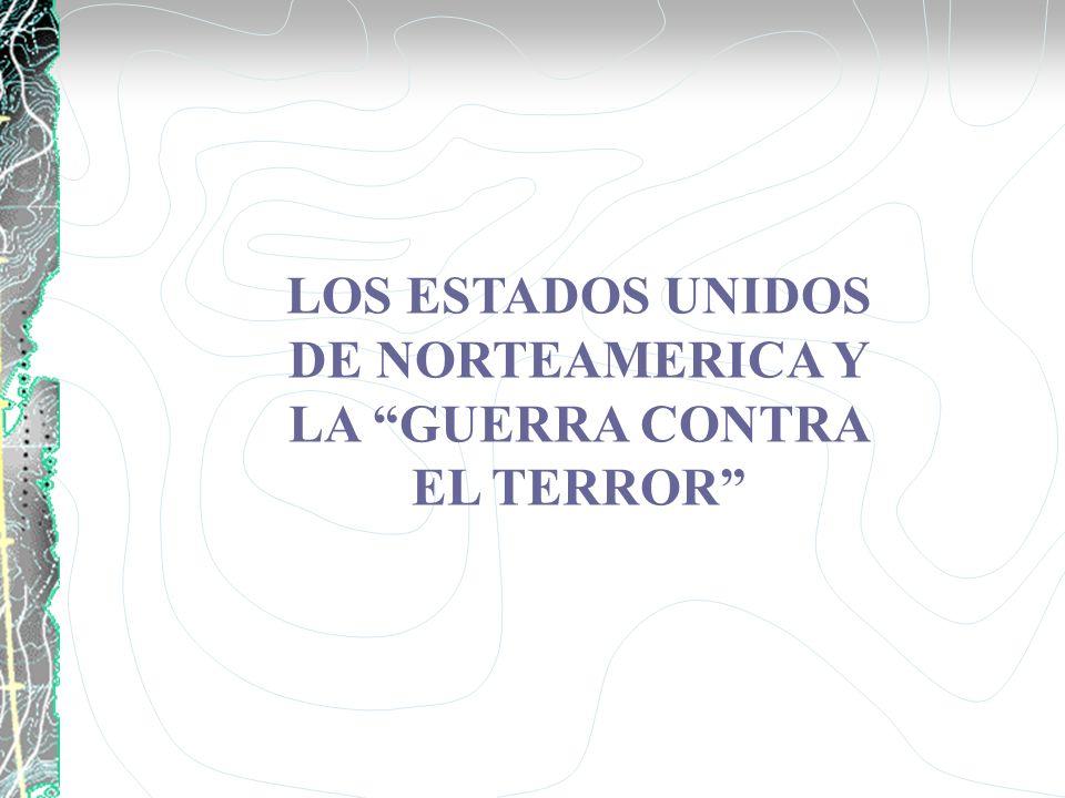 LOS ESTADOS UNIDOS DE NORTEAMERICA Y LA GUERRA CONTRA EL TERROR