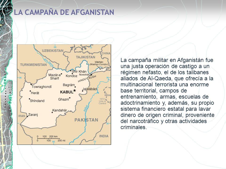 LA CAMPAÑA DE AFGANISTAN
