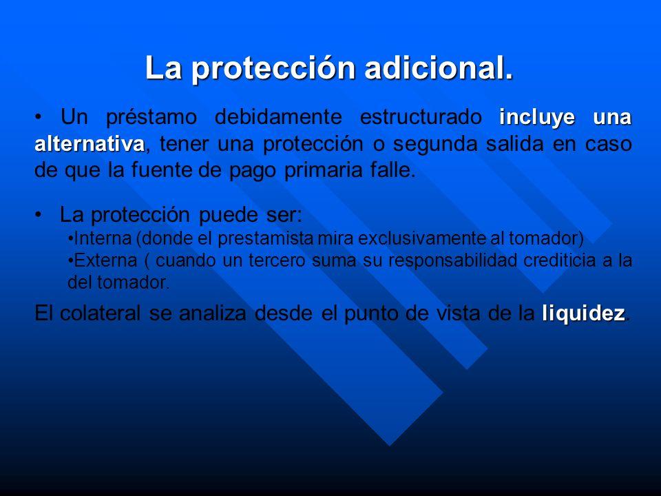 La protección adicional.