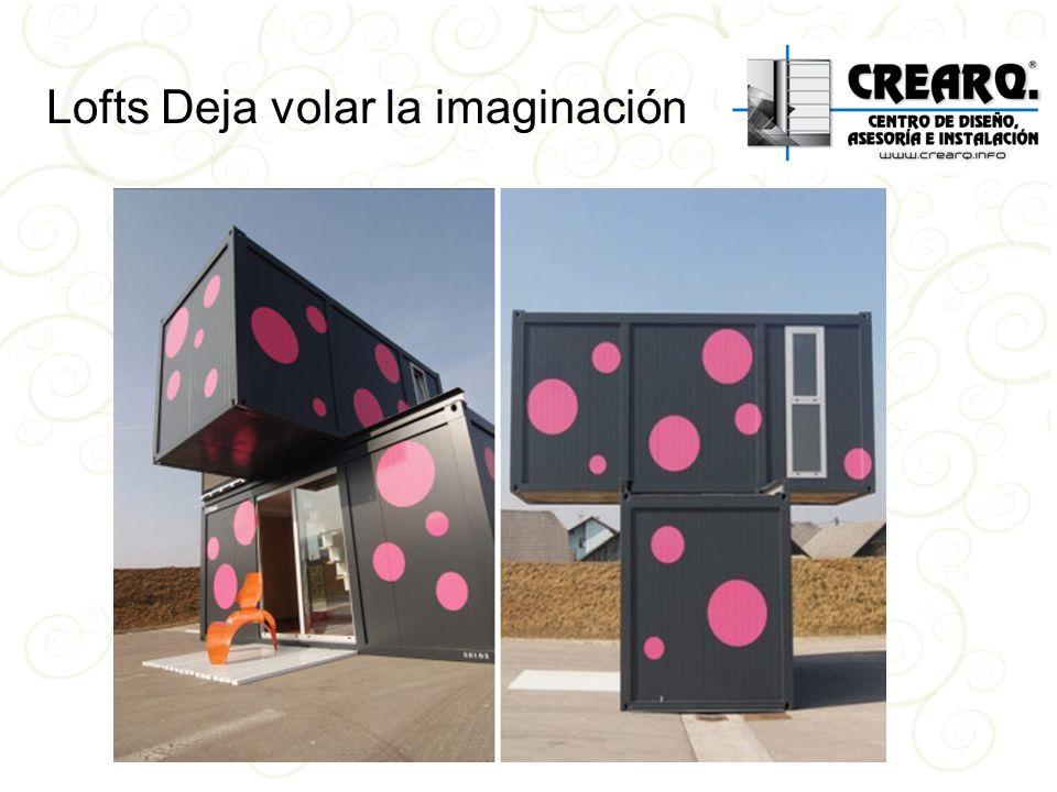 Lofts Deja volar la imaginación