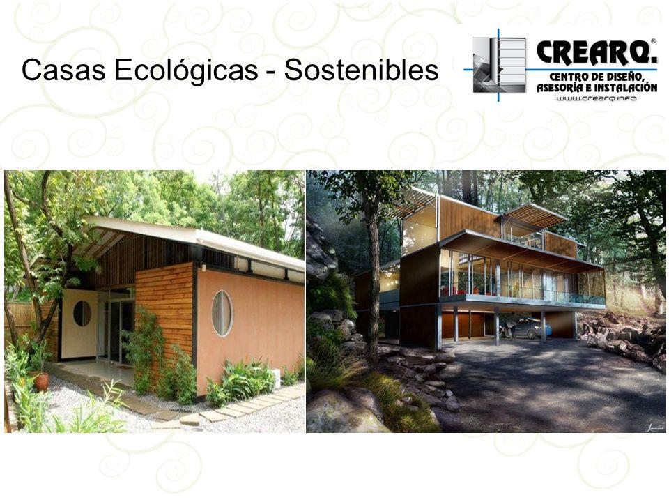 Casas Ecológicas - Sostenibles