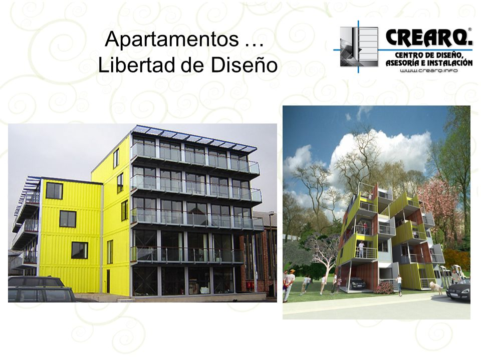 Apartamentos … Libertad de Diseño